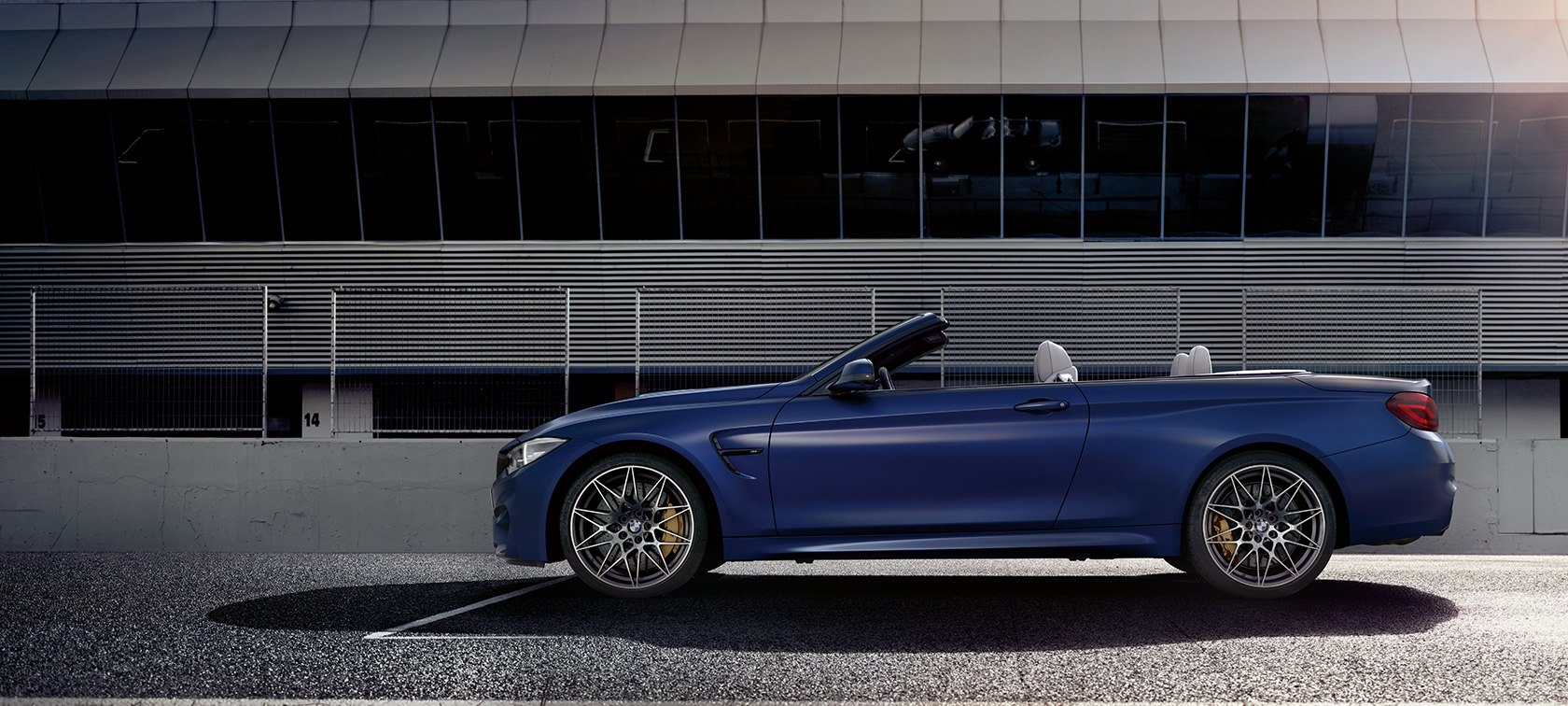 BMW M4 Convertible, technical data
