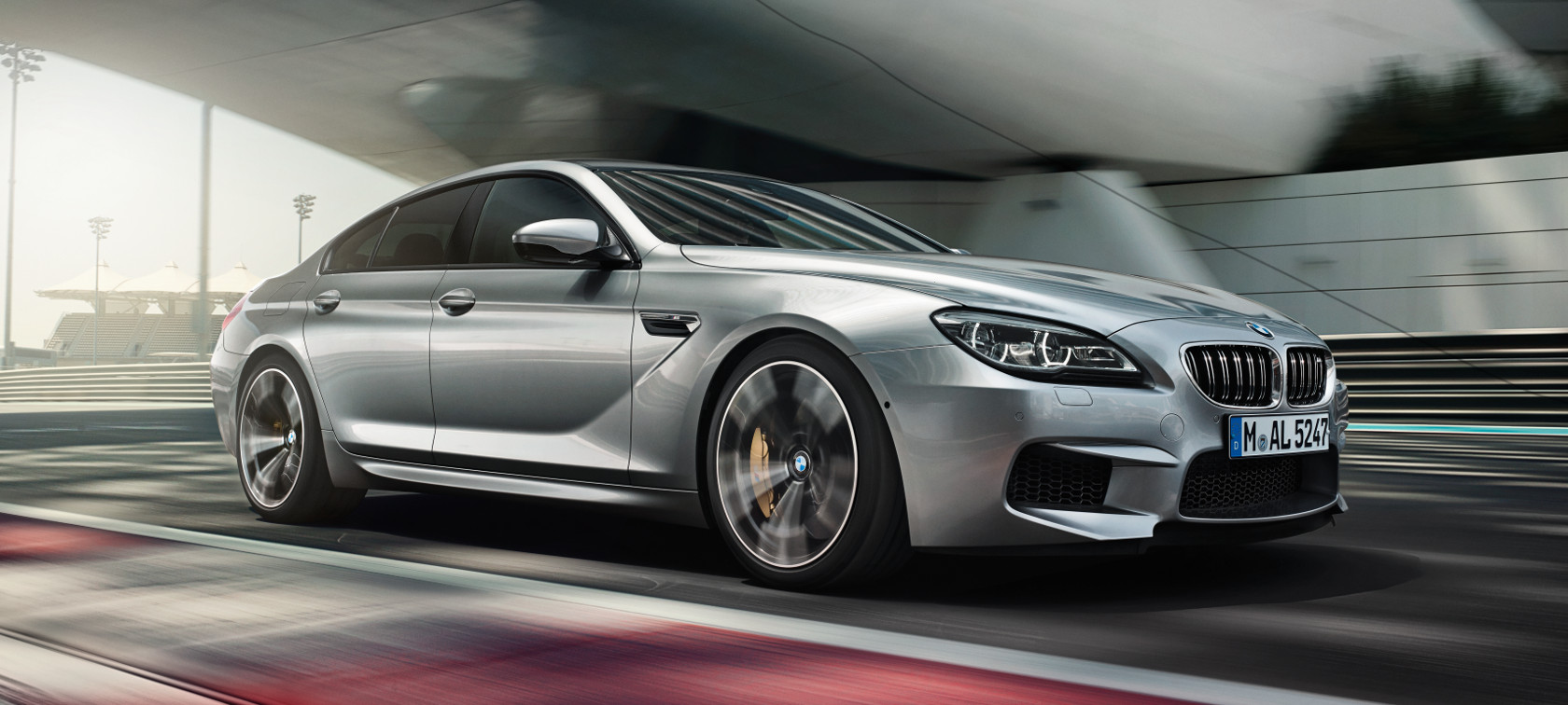 BMW M6 Gran Coupe Driving Dynamics Efficiency