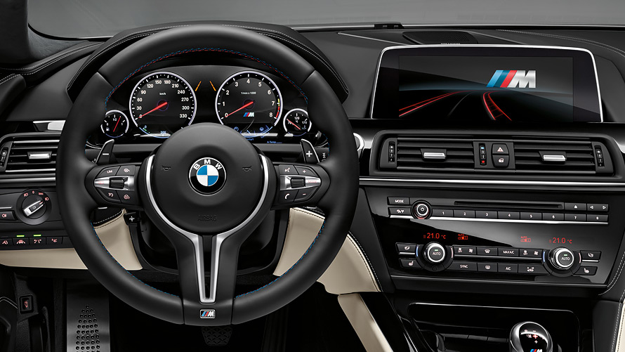 BMW M6 Gran Coupé : Safety & Comfort