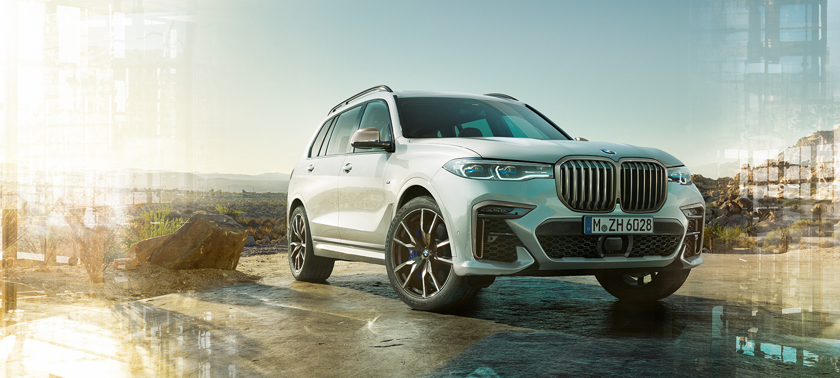 BMW X7 and M50i, technical data