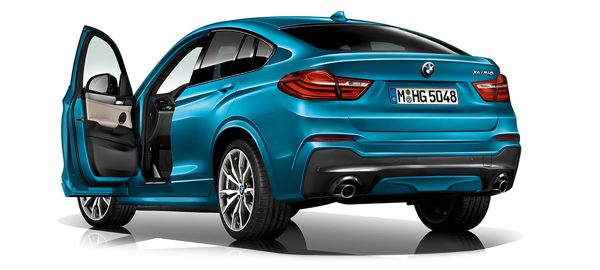 04f6983d80b THE M PERFORMANCE DESIGN OF THE BMW X4 M40i.